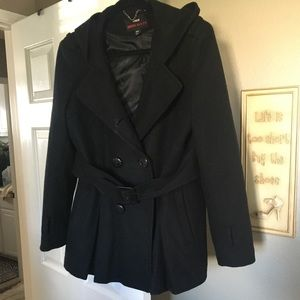 Miss Sixty Black Coat-XL (plus size)
